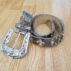 Womans Bling Belt